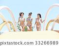 泳池度假村比基尼女朋友 33266989