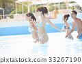 年轻人 游泳池 水池 33267190