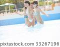 年轻人 游泳池 水池 33267196