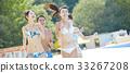 年轻人 游泳池 水池 33267208