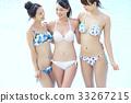 泳池度假村比基尼女朋友 33267215