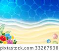 海洋 海 蓝色的水 33267938