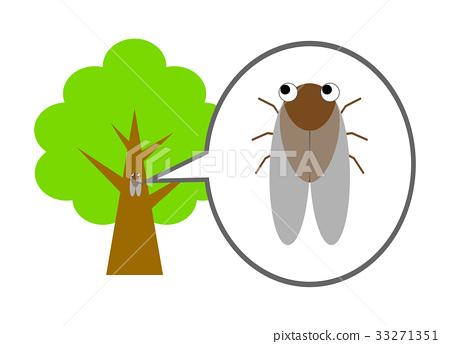 Semi that sticks to trees 33271351