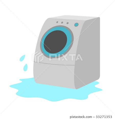 Water leak in washing machine 33271353