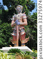 guardian of temple Thailand 33275974