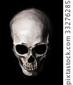 頭骨 骨架 骨頭 33276285