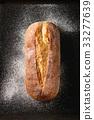 Fresh baked wheat bread 33277639