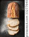 Fresh baked wheat bread 33277640