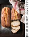 Fresh baked wheat bread 33277644