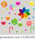 Lollypop Set With Pinwheel 33280169