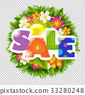 Summer And Spring Sale Banner 33280248