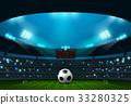 soccer stadium 33280325
