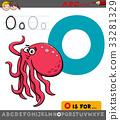 alphabet, letter, octopus 33281329