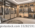 minimal loft luxury wood walk in closet 33282591
