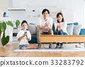 若い家族(スマホ) 33283792