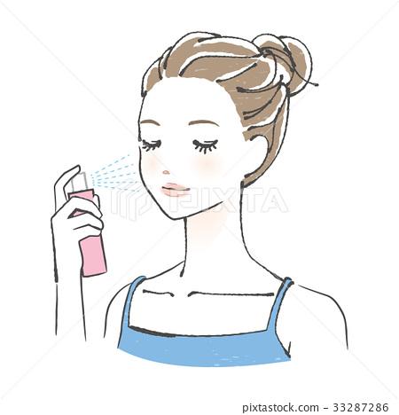 美容型面部乳液噴霧 33287286