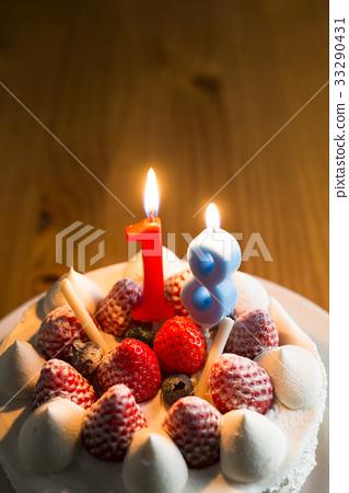 生日蛋糕18歲 33290431