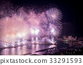 skyrocket, Fireworks Display, display of fireworks 33291593