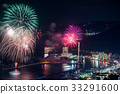 skyrocket, Fireworks Display, display of fireworks 33291600