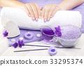 manicure, hand, nail 33295374