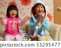 초, 케이크, 생일파티 33295477