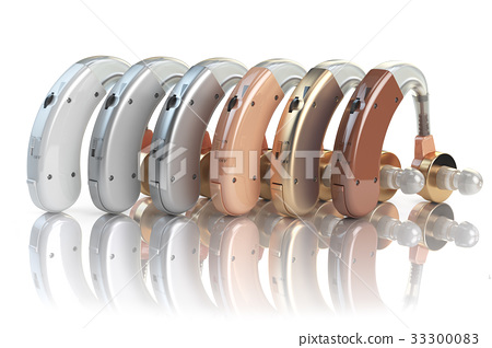 Hearing aids of the different colors 33300083
