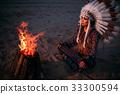 costume, fire, female 33300594