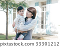 หญิงสาวและเด็กวัยหัดเดิน 33301212