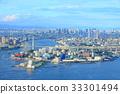osaka, cityscape, mt. tenpo 33301494