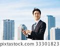 企业天空和大厦 33301823