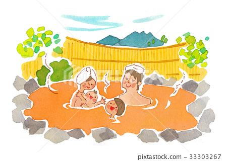 戶外浴 33303267