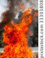Flame fire movemen. 33303808