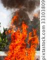 Flame fire movemen. 33303809