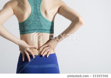有腰下部痛的小姐 33305566