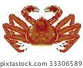 crab, crabs, king crab 33306589