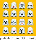 emoji, halloween, ghost 33307645