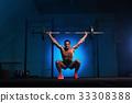 杠铃 男性 健身房 33308388