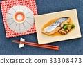 日本鮁魚 水煮魚 日本料理 33308473