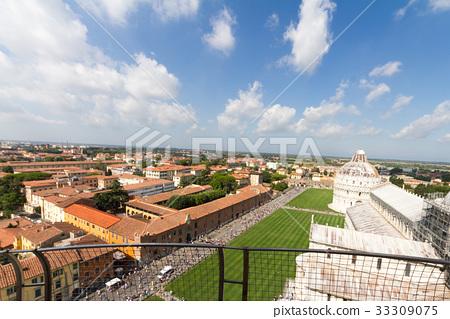 피사의 사탑에서의 풍경 Pisa Italy 33309075