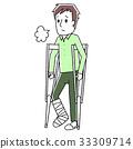 bone, fracture, broken 33309714
