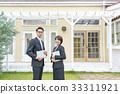 부동산 매매, 비즈니스우먼, 비즈니스맨 33311921