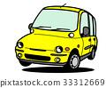 意大利馬車黃色跳 33312669