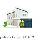 Snow snowfall winter house house 33314029