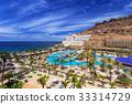 Sun holidays architecture in Taurito, Gran Canaria 33314729