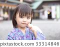 신사 유카타 아이 33314846