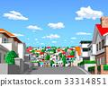 城市 住宅區 居住區 33314851