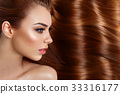 girl with beautiful long hair 33316177