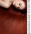 girl with beautiful long hair 33316178