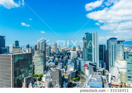 【오사카】 도시 풍경 33316451
