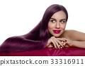 girl with beautiful long hair 33316911